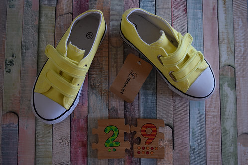 Yellow Sport Shoes Size 29