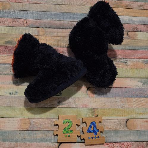Fluffy Home Slippers Debenhams Size 24
