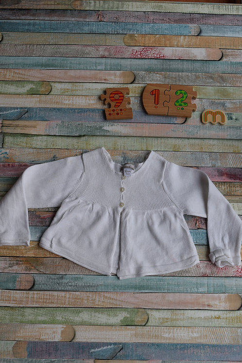 White Cardigan 9-12 Months Old