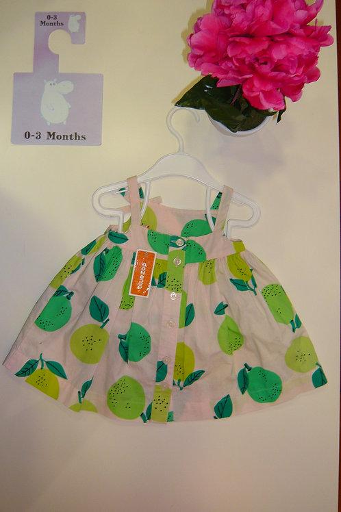 Green Apples Dress