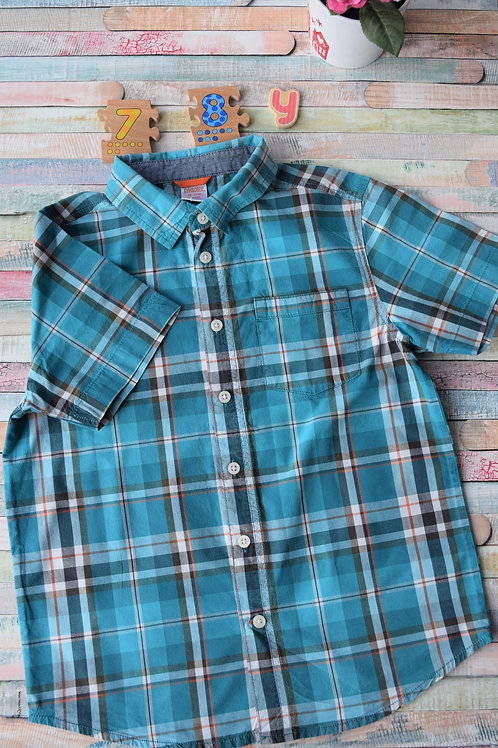 Blue Summer Shirt 7-8 Years Old