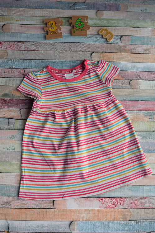 Stripes Dress Cotton 3-6 Months Old