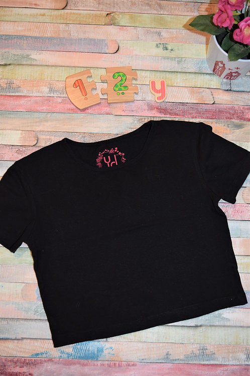 YD Black Tshirt 11-12years
