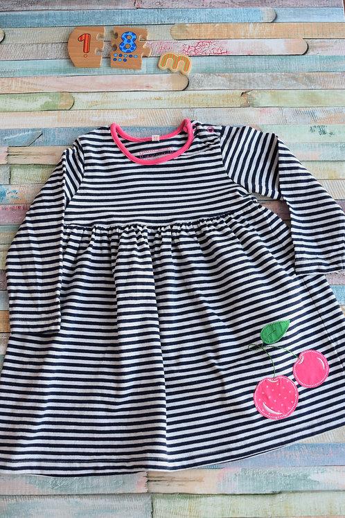 Cherry Dress 12-18 Months Old