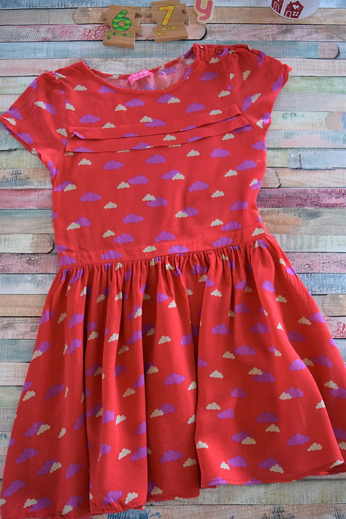 Next Clouds Dress 6-7 Years Old