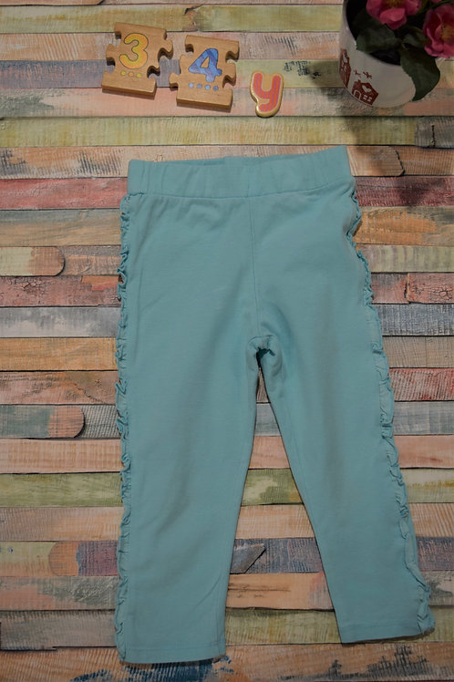 Turquoise Leggings 3-4 Years Old