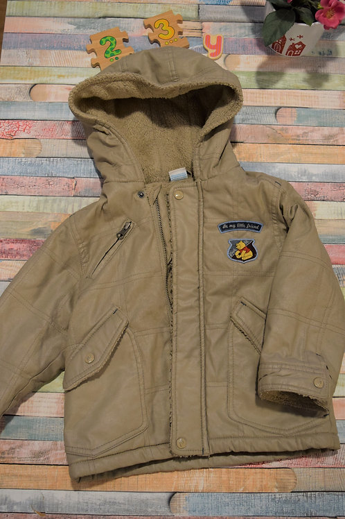 Cream Thick Jacket 2-3 Years Old