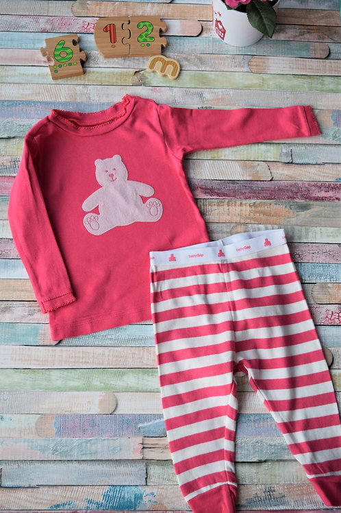 Set Gap Pink Bear 6-12 Months Old