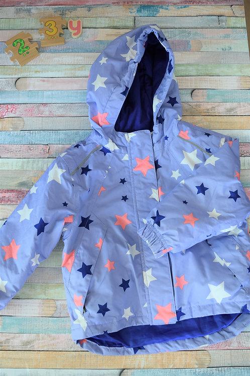 Blue Stars Rain Jacket 2-3 Years Old