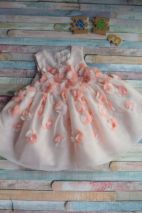 Flower Dress 3-6 Months Old