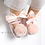 Thumbnail: Baby Pink Sparkly Bow Shoes