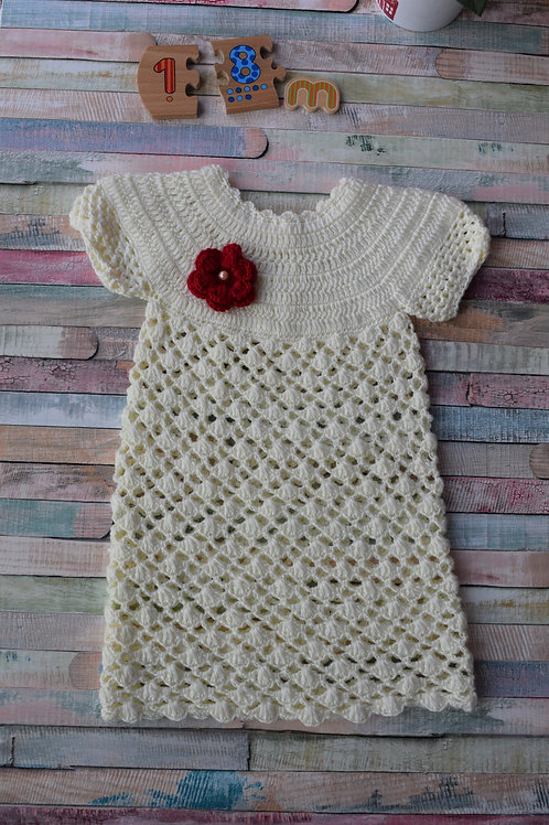 Knitted Dress 12-18 Months Old
