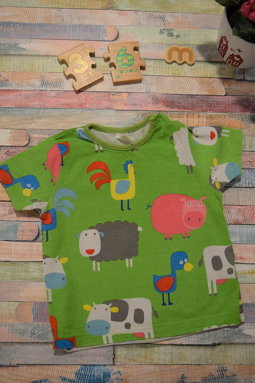 Farmer T-shirt 3-6 Months