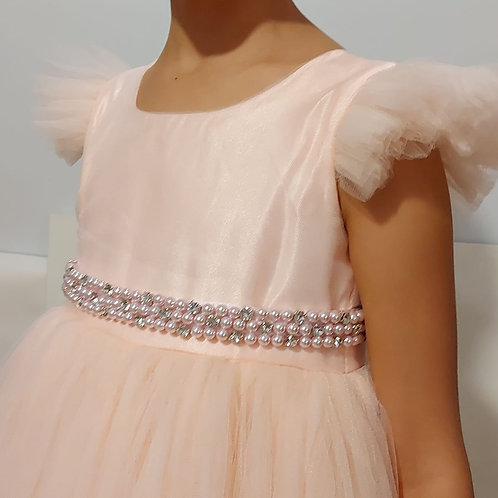 Crystals and Pearls Dress Belt