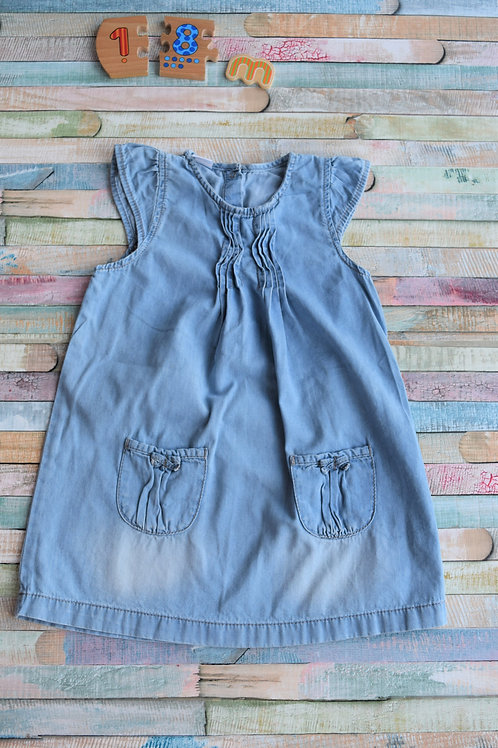 Jeans Dress 12-18 Months Old