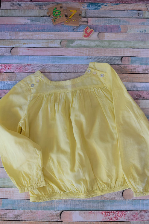 Yellow Top 6-7 Years Old