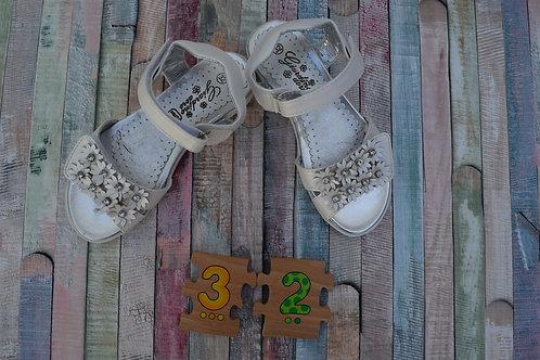 Flower Sandals Shoes Size 32
