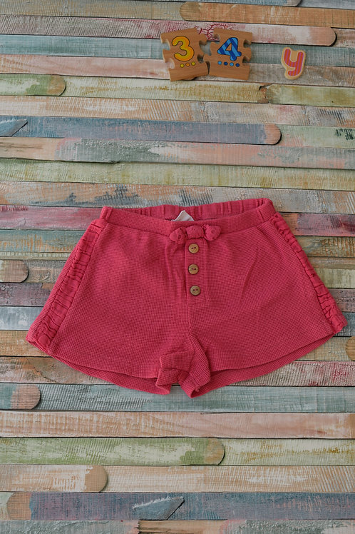 Pink Cotton Shorts 3-4 Years Old