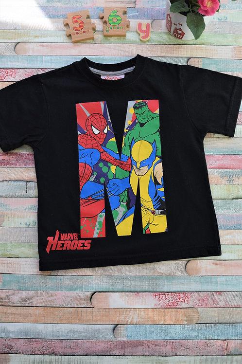 Tshirt Marvel Heroes 5-6 Years Old