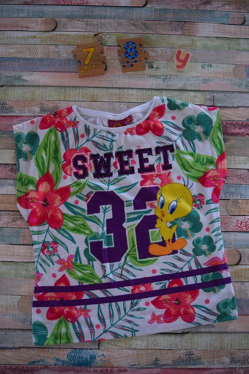 Sweet Tweety Tshirt 7-8 Years Old