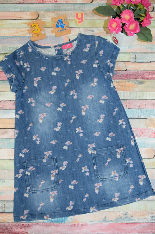 Jeans Dress 3-4 Years