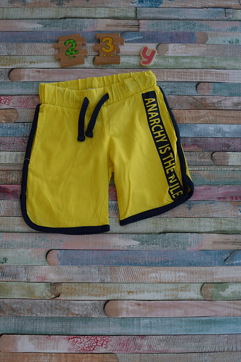 Yellow Shorts 2-3 Years Old