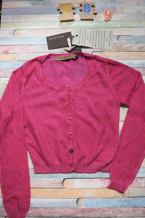 Denim Pink Cardigan 7-8 Years Old