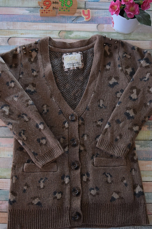 Brown Cardigan 9-10 Years Old
