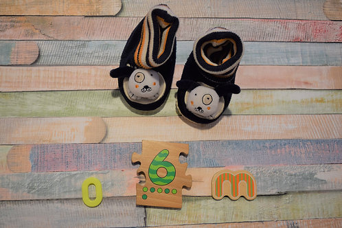 Silly Cow Home Slippers  0-6 Months Old