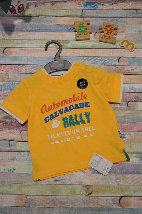 Rally Tshirt Mothercare 6-9 Months