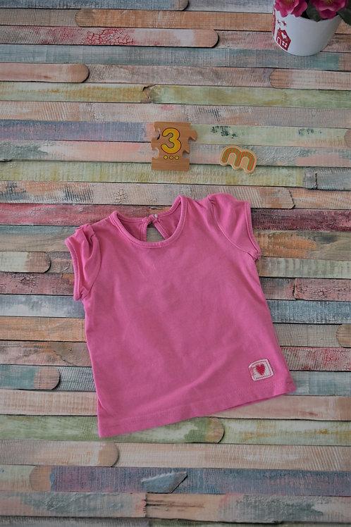 Pink Tshirt 0-3 Months