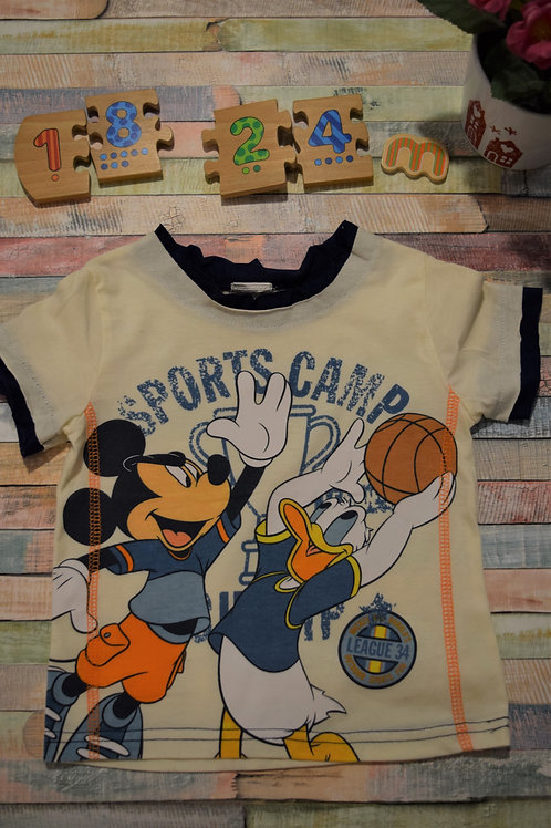 Sports Camp Mickey and Donald 18-24 Months