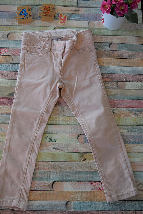 Light Pink Next Trousers 4 - 5 Years Old