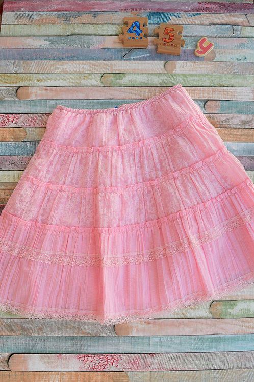Romantic Pink Skirt 4-5 Years Old