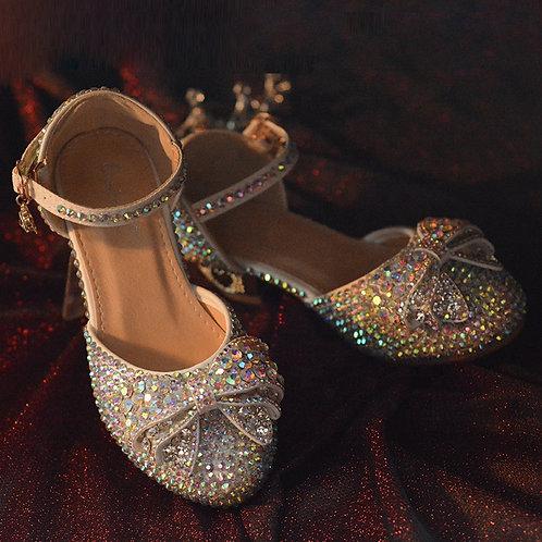 Amazing Rhinestone Shoes with Heel