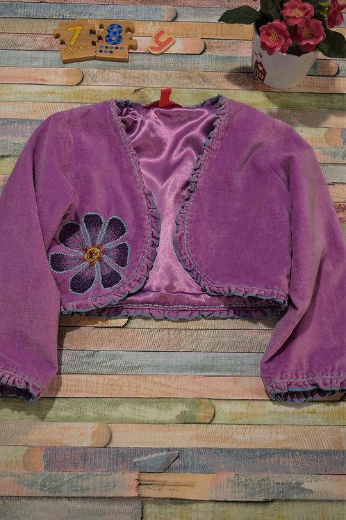 Purple Cardigan 7-8 Years Old