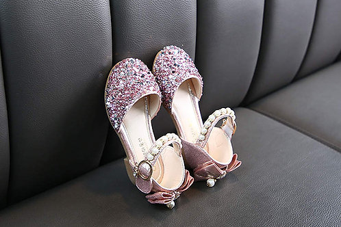 Pink Sparkly Little Princess Shoes