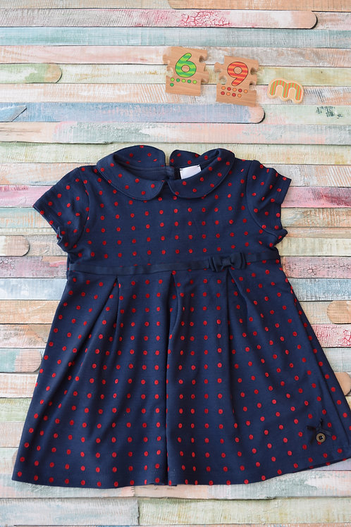 Jasper Conran Blue Dress 6-9 Months Old