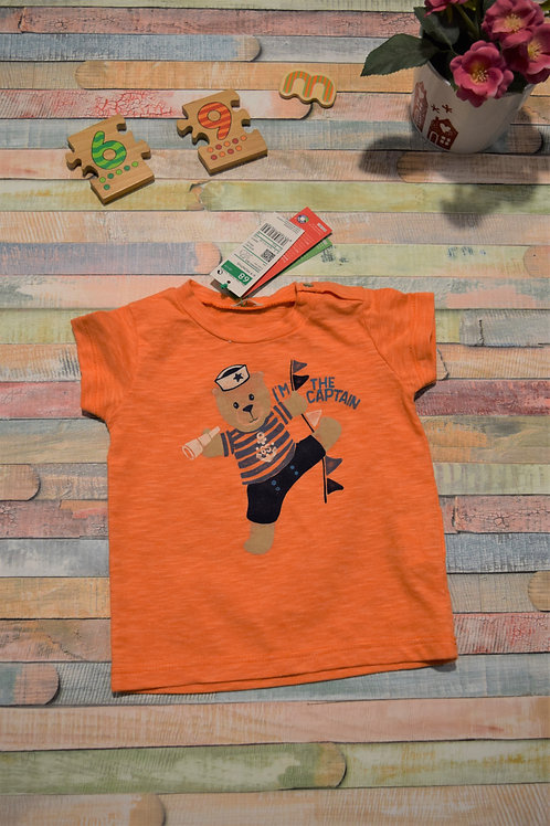 I'm the Capitain Tshirt Beneton 6-9 Months