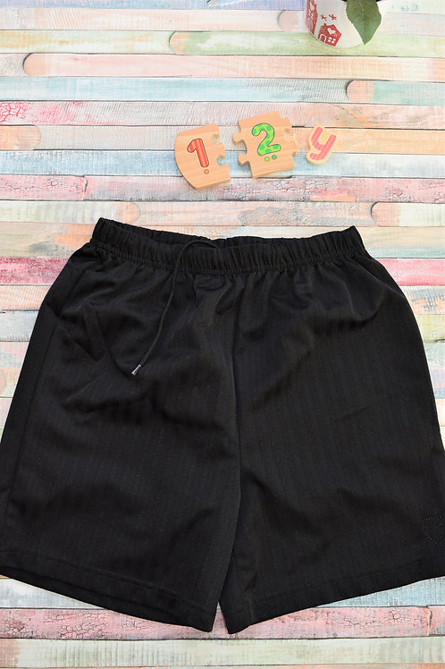Football Black Shorts 12-13 Years Old