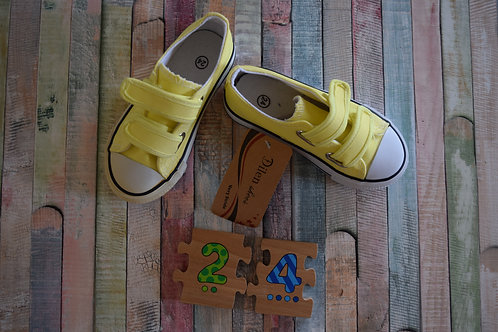 Yellow Sport Shoes Size 24
