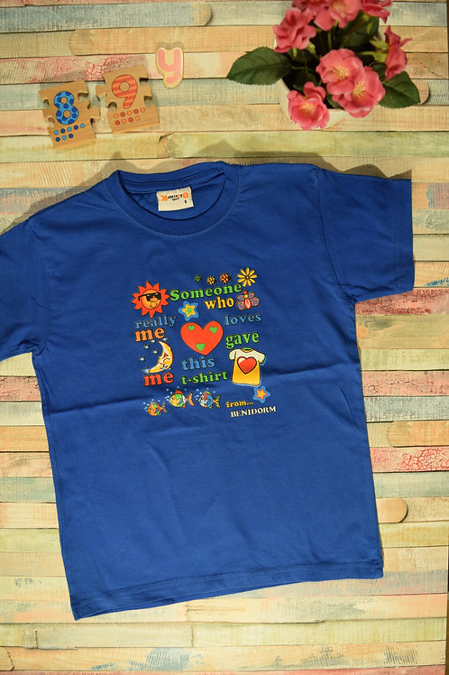 Blue Fun T-shirt