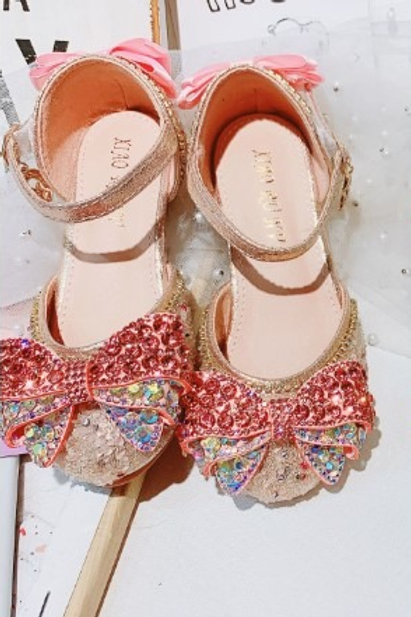 Pink Rhinestone Sparkly Shoes