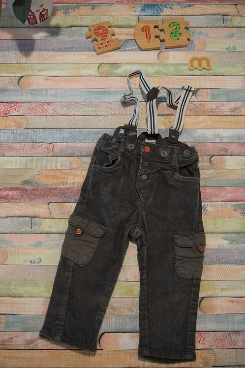 Grey Trousers 9-12 Months