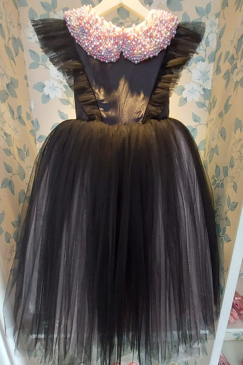 Black and Pink Merida Dress for Strong Girls