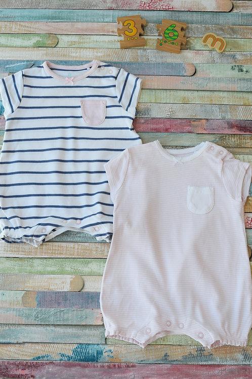 Next Summer 2 Pieces BodySuit 3-6 Months Old
