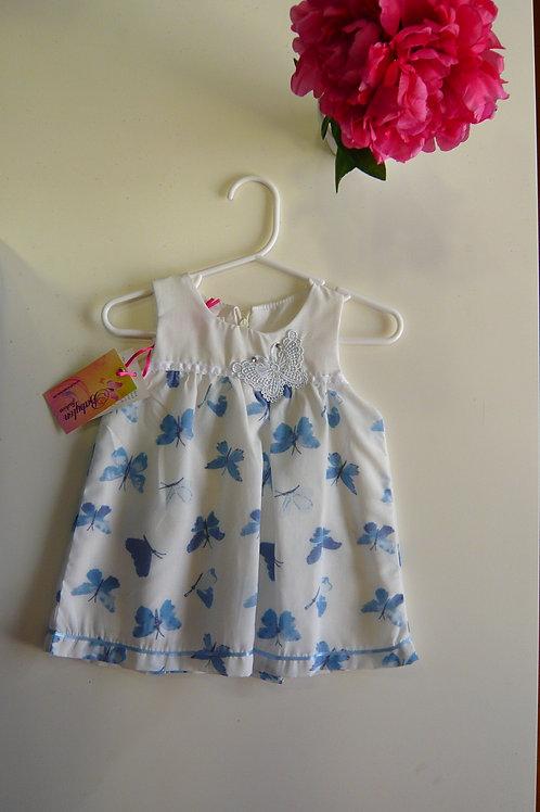 Blue Butterfly Dream Dress
