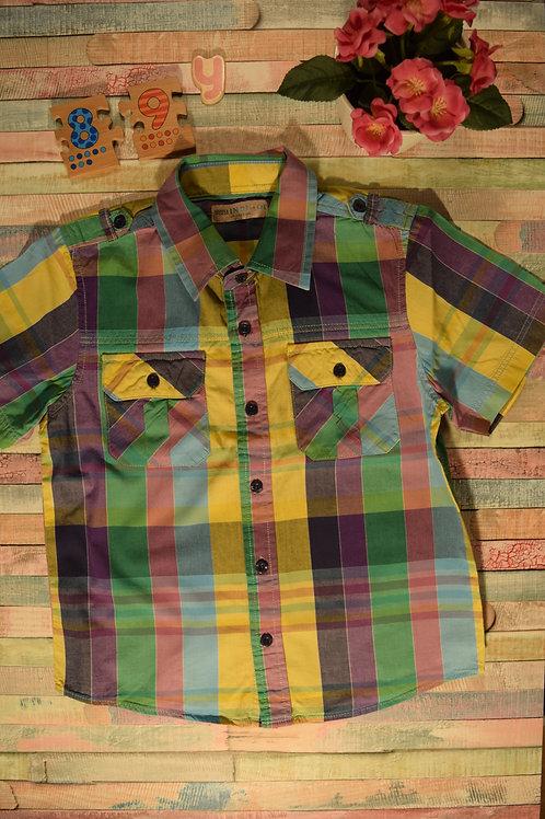 Marks&Spencer Indigo Collection Plaid Shirt