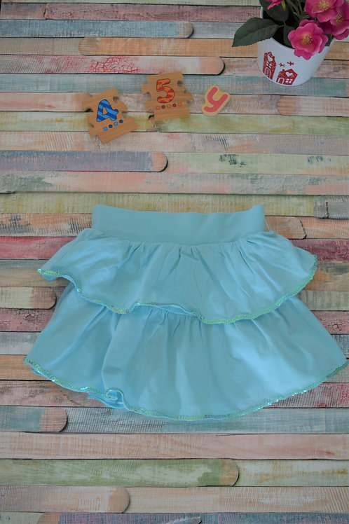 Turquoise Skirt 4-5 Years Old