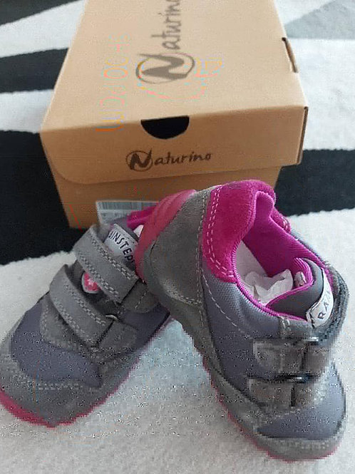 Naturino Grey Boy Shoes Shoes Size 21